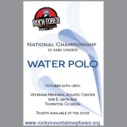 Waterpolo Tournament POSTER