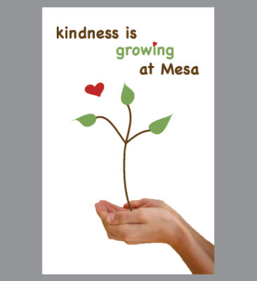 Mesa Elementary School POSTER CAMPAIGN