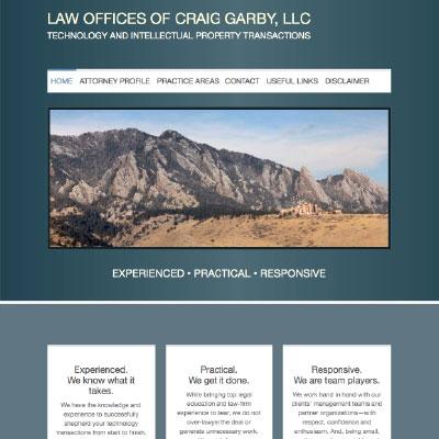 GarbyLaw WEBSITE