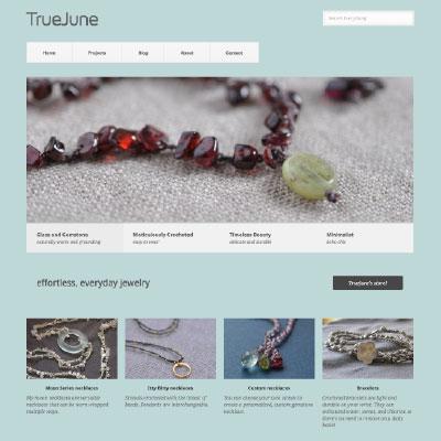 TrueJune WEBSITE
