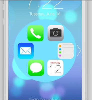 iPhone Shortcut Wheel PROTOTYPES