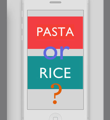 Pasta Plunges, Rice Rests PROTOTYPES