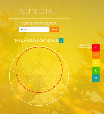 WEB APP: Sun Dial