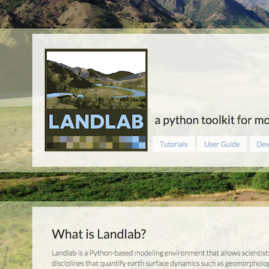 Landlab WEBSITE