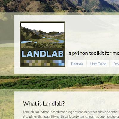 Landlab WEBSITE